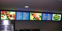 световой короб ресторана